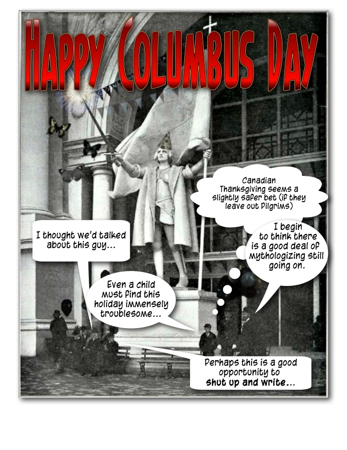 Keck Works Columbus Day... continuing the forward motion