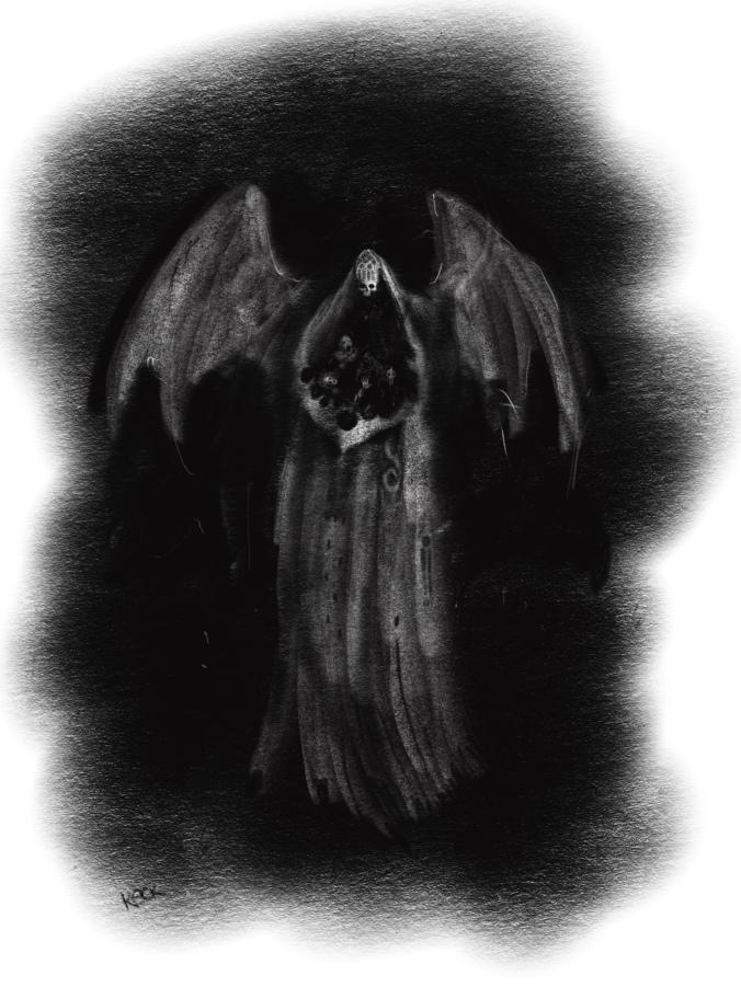 David Keck Draws a Villain for The Serpent's Walk